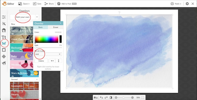 How to Create Watercolour Text using Picmonkey