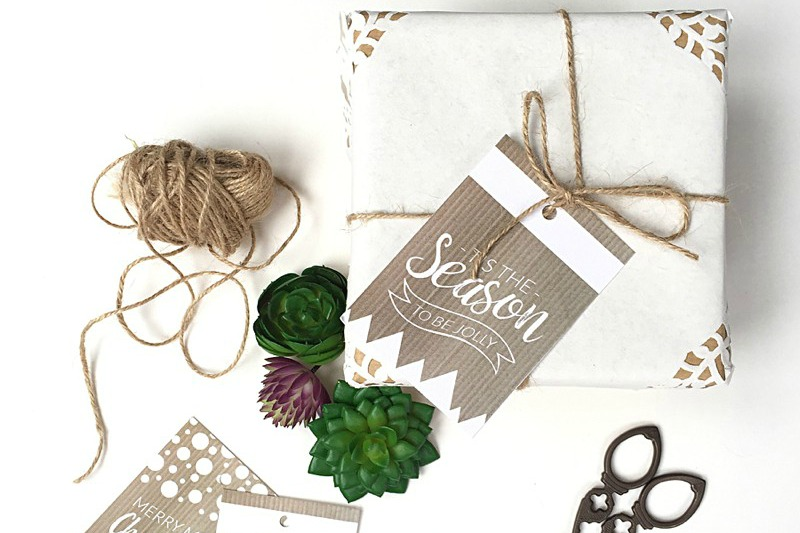Rustic Printable Christmas Gift Tags