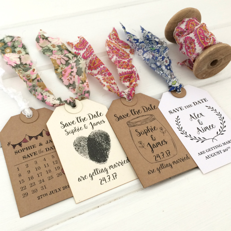 Razzle Dazz Rose Personalised Rubber Stamps | A7 Luggage Tags | Laurel Wreath