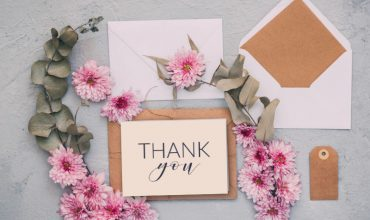 Buy or DIY wedding invitations | Thank you card