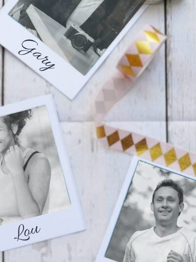 Fun Wedding Place Card Ideas: DIY Polaroid Name Card Tutorial