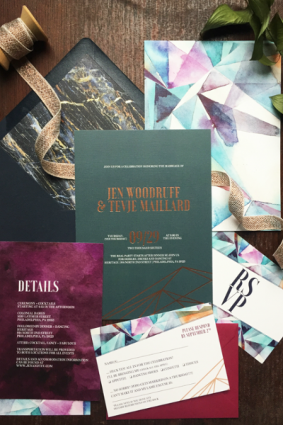 The Hottest Wedding Invitation Trends for 2017
