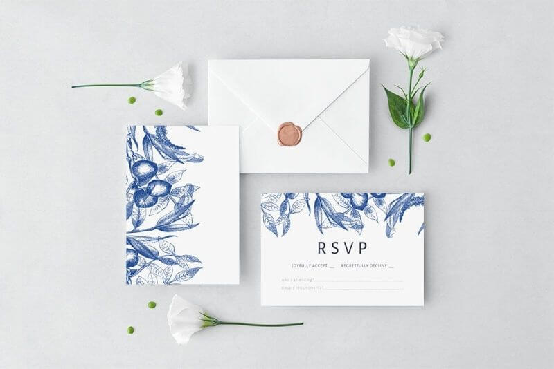 RSVP text examples